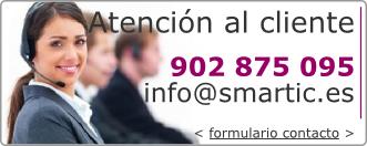 Contacto: 902875095, infoarrobasmarticpuntoes, formulario de contacto, multiconferencia, conference call